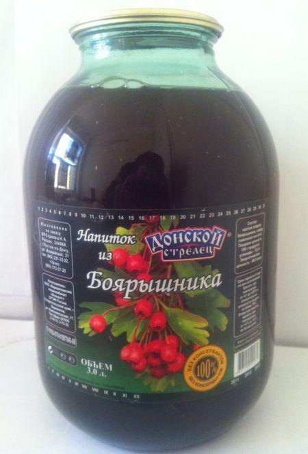 """Напиток из Боярышника  """"Донской стрелец """""""